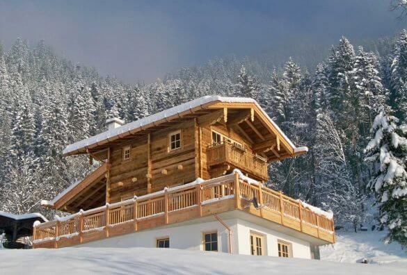 Cabins and chalets for New Year's Eve 2017/2018 in the alps