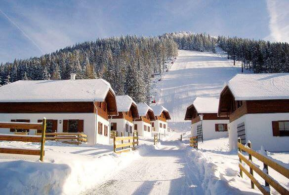 Chalets & cabins in the alps for christmas 2017